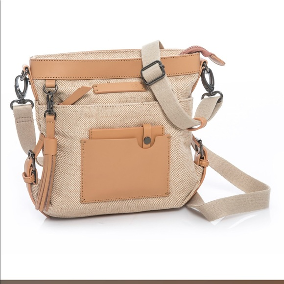 Sherpani Luna Jute crossbody bag. M 5ac794481dffda73f661d5c4